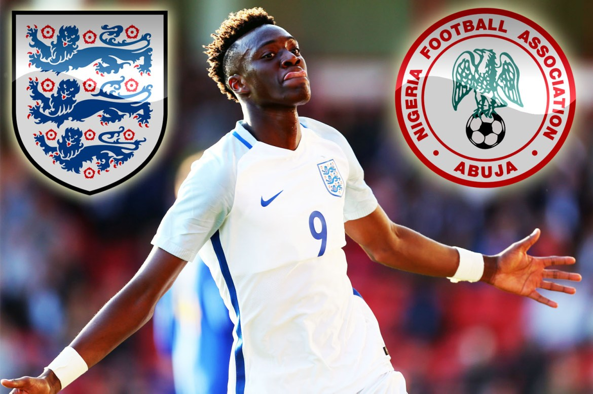 England face a fight to keep hold of Chelsea goal machine Tammy Abraham with Nigeria confident of poaching the striker
