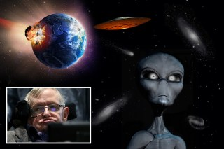 Professor Hawking fears asteroids could wipe humanity off the face of the planet