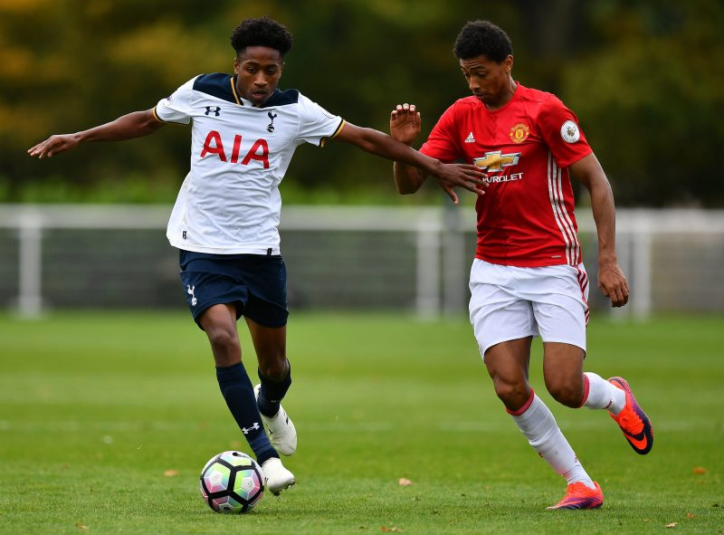 Kyle Walker Peters Is Putting In Some Impressive Performances For The Spurs U Side