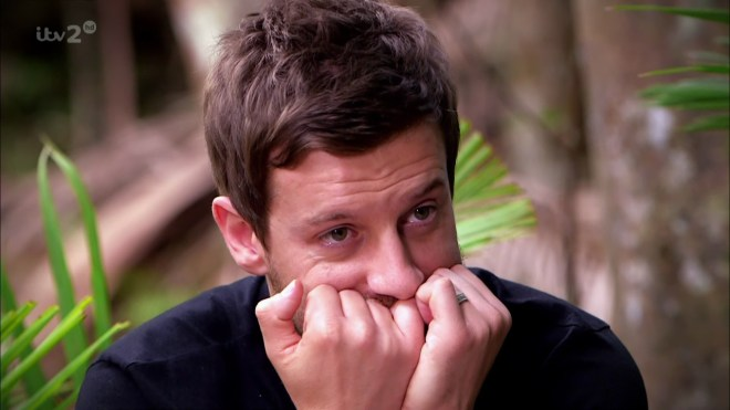 Chris is now one of four presenters on the I'm A Celeb spin-off show