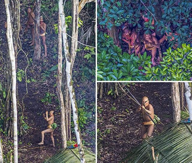 Photographer Stumbles Across Uncontacted Tribe Deep In The Amazon Rainforest After His Helicopter Takes Detour To Dodge Storm