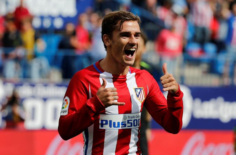 Image result for manchester united target antoine griezmann snaps at questions over future