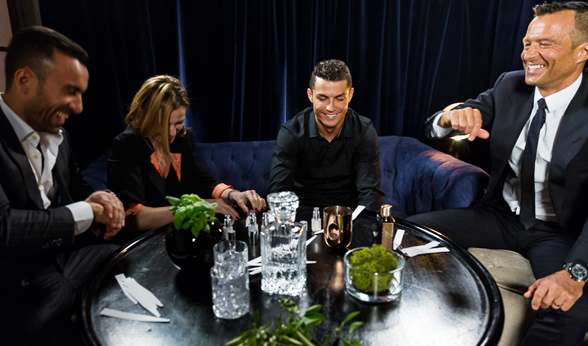 Image result for RONALDO'S NEW PERFUME LAUNCH