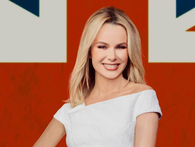 Amanda Holden is a judge on Britain's Got Talent and has appeared on television for 25 years