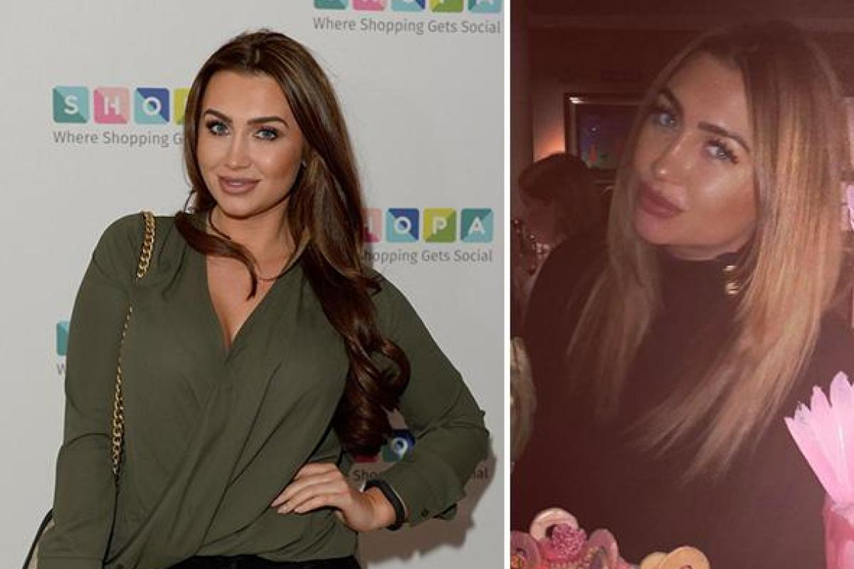 Lauren Goodger Shows Off Glossy New Hair After Revealing Shes