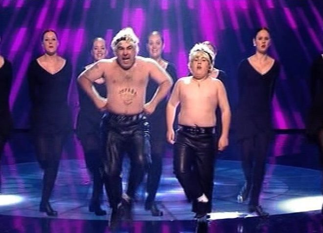 The pair ended up in fourth place in Britain's Got Talent behind Susan Boyle, Diversity and saxophonist Julian Smith