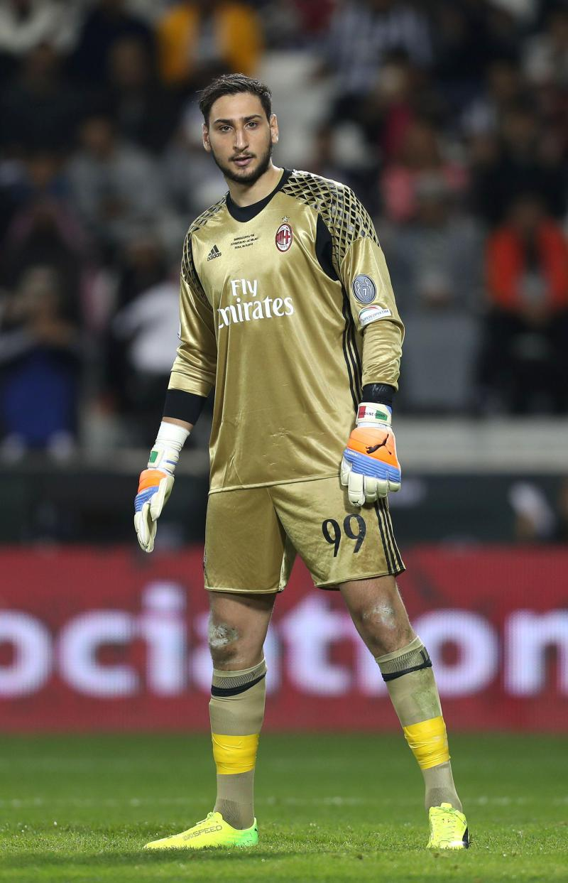 Ac Milan Goalkeeper Gianluigi Donnarumma Is Only  But Is Regarded As One Of The Top