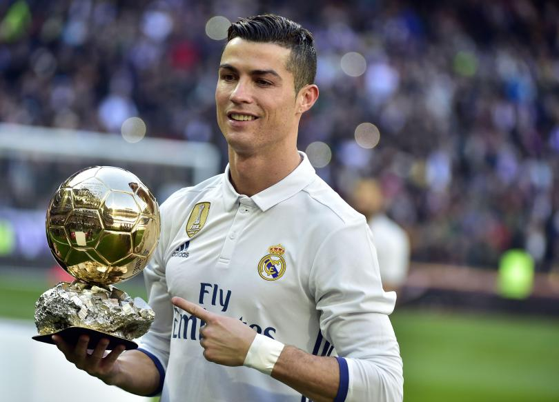 Ronaldo adds another Ballon d'Or to the collection at the Bernabeu