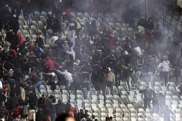 Egypt vs Tunisia riot