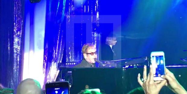Elton John kicked off the epic nine-hour show