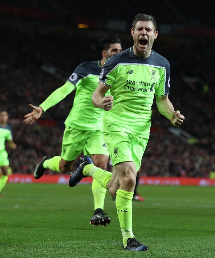 James Milner has scored 10 from 10 penalties