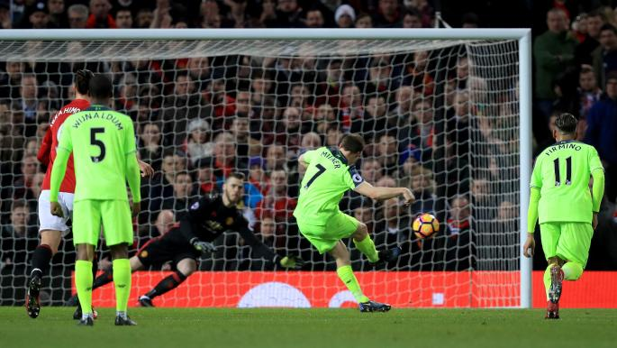 James Milner made no mistake from the spot