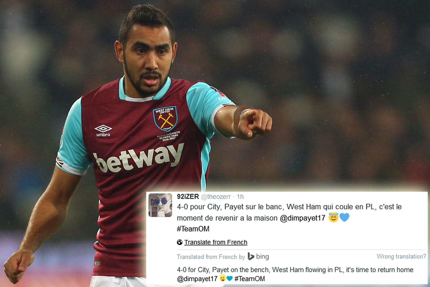 What is the Dimitri Payet latest Why does Dimitri Payet want to