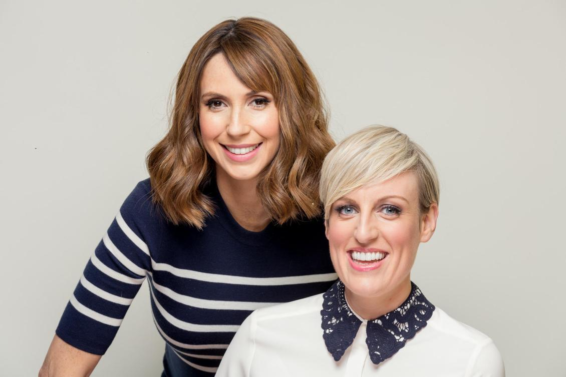 Alex Jones, left, and Steph McGovern have returned to host the second series of Shop Well For Less