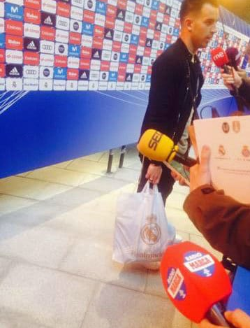(Photos) Spanish Referee Caught With Real Madrid Merchandise After Awarding Controversial Penalty Against Villareal