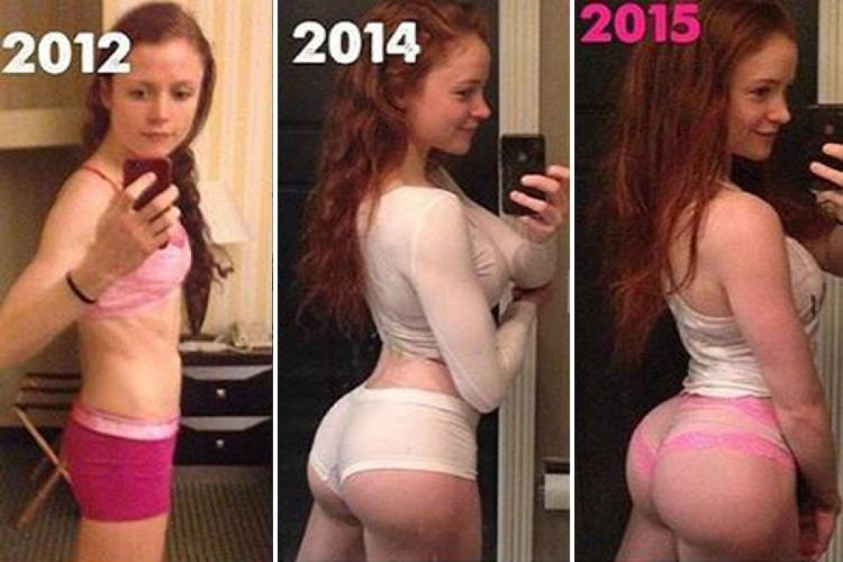 Fitness Blogger Goes From A Flat Bum To Kim Kardashian -9330