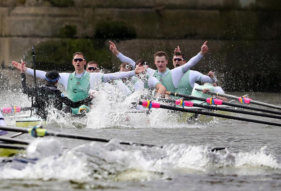 Cambridge are narrowly leading the way in the most boat race wins