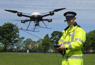 Police are set to launch the first 24 hour drone 'flying squad'