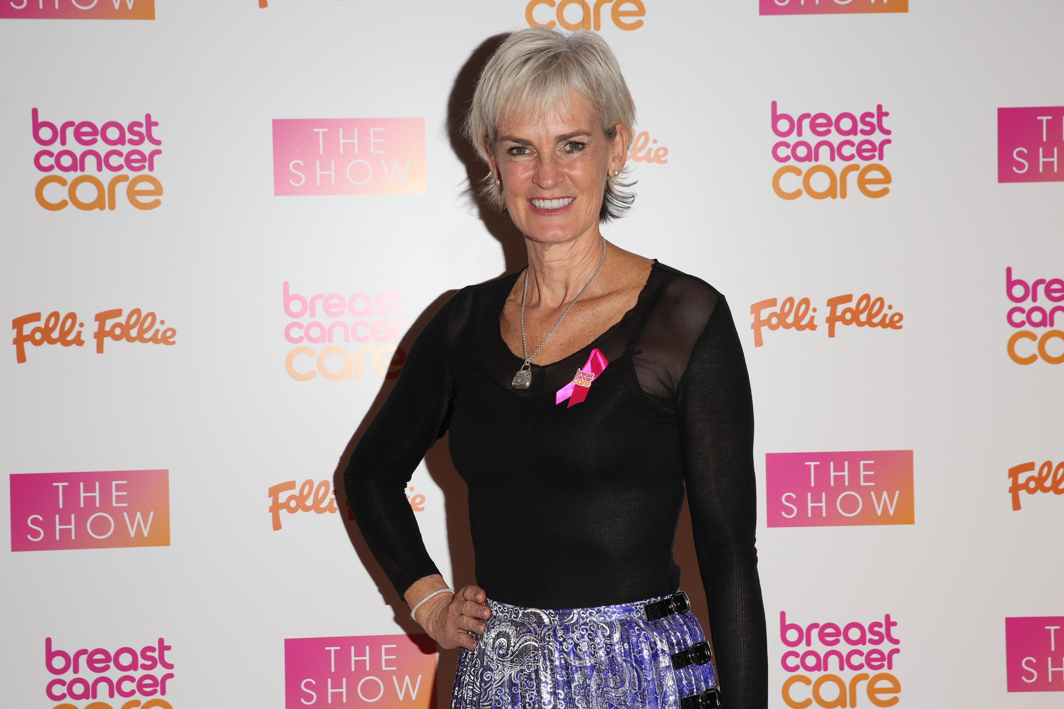 Judy Murray appeared on All Round to Mrs Brown's tonight