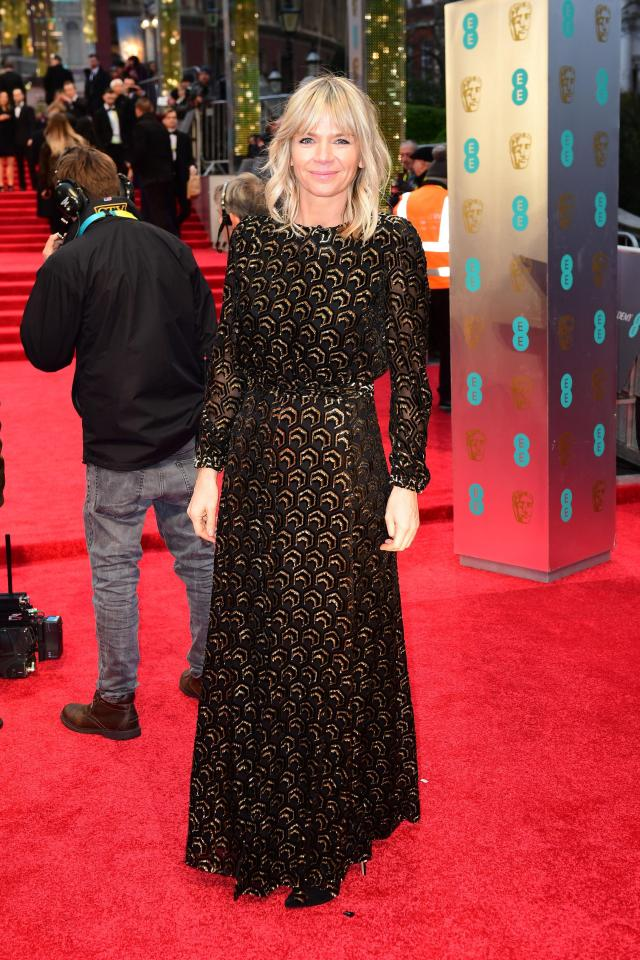 Zoe Ball is the host of Strictly: It Takes Two