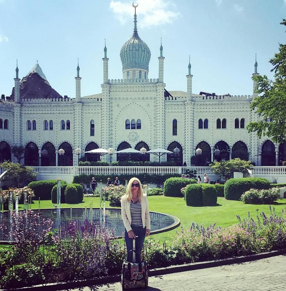 Jo's visit to the Tivoli Gardens in Copenhagen as part of her round-the-world tour on a quest to fulfil her lifetime ambition