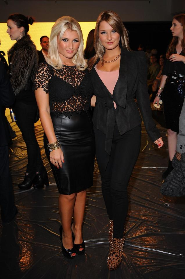Sam and her sister Billie, who joined her on the show in the second series