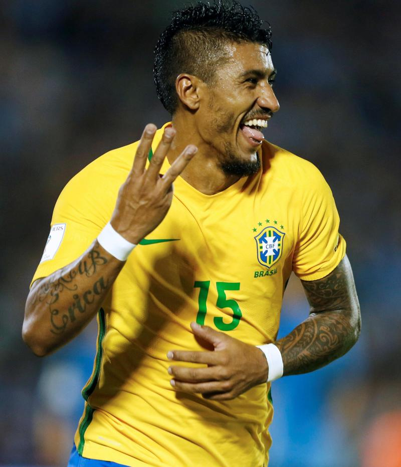 Paulinho Fired Home Three Goals For Brazil In Their World Cup Clash