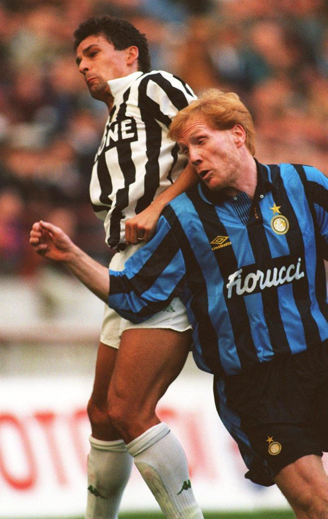 Matthias Sammer in action during a short spell with Inter Milan back in 1992
