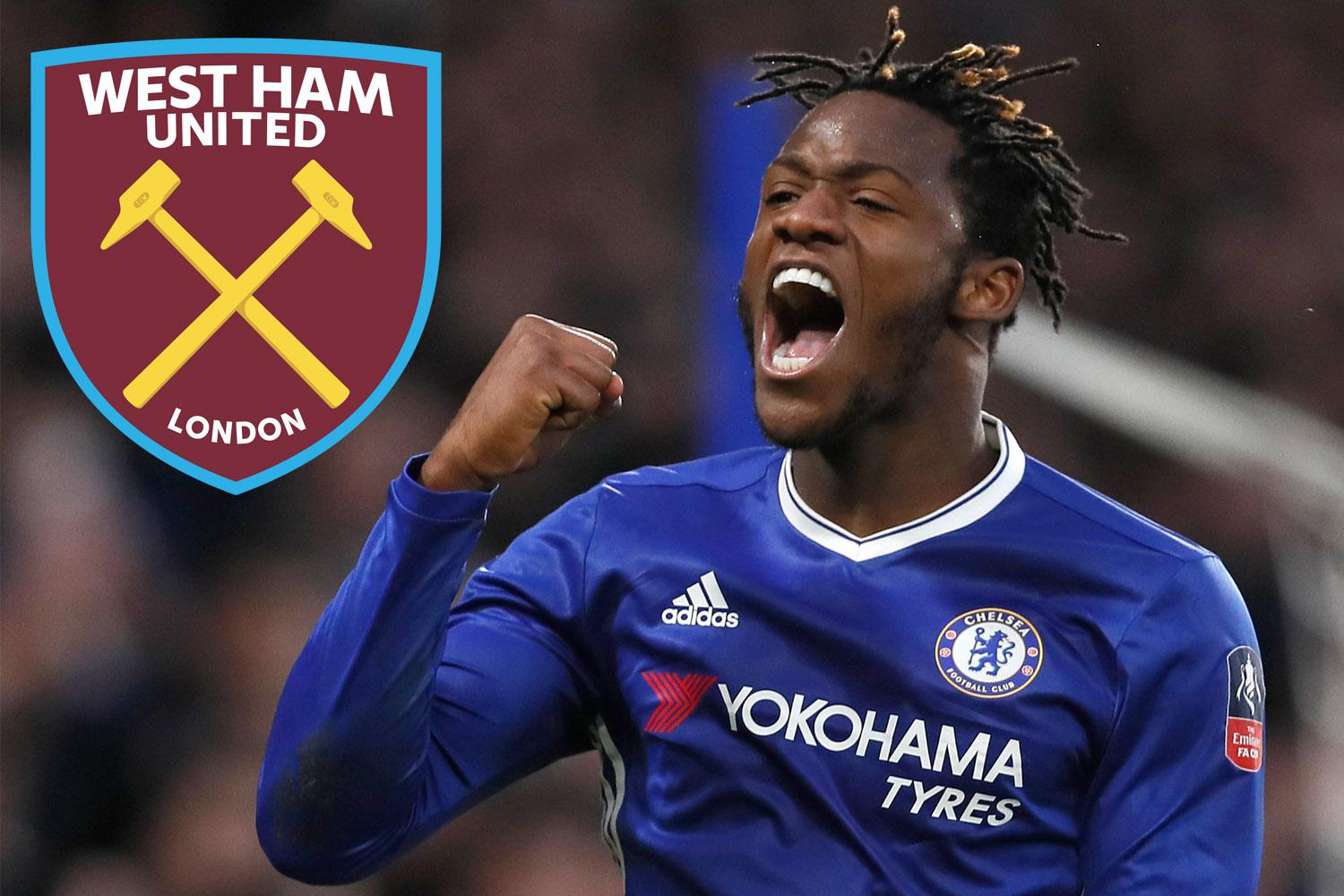 Michy Batshuayi West Ham want Chelsea flop on season long loan as