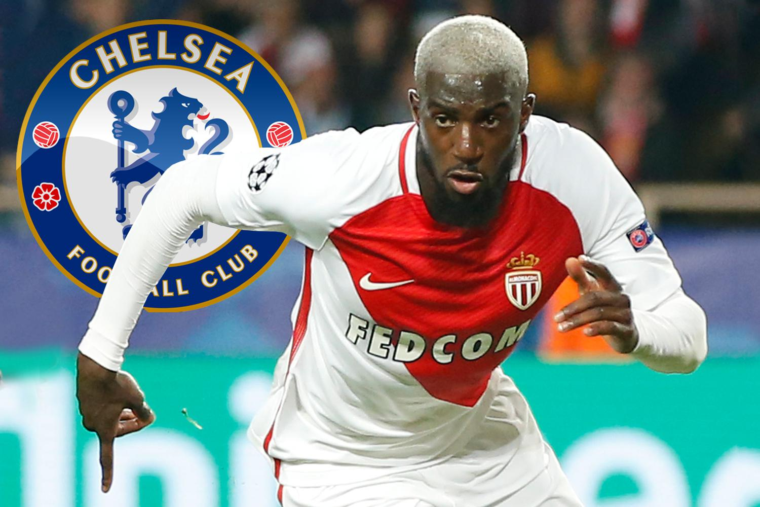 Chelsea agree £35m fee with Monaco for midfield star Tiemoue