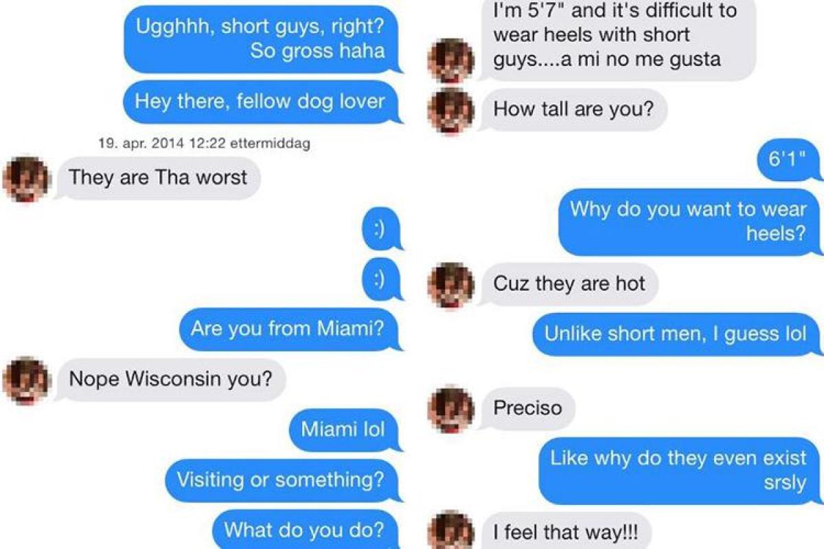 Men short women hate Mea Culpa: