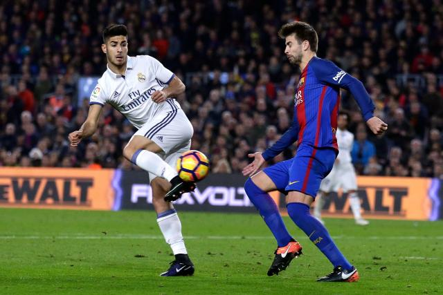 Real Madrid star Marco Asensio made his Spain debut in 2016