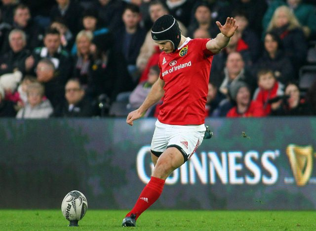 The kicking of Tyler Bleyendaal could be the difference against Saracens at the Aviva stadium
