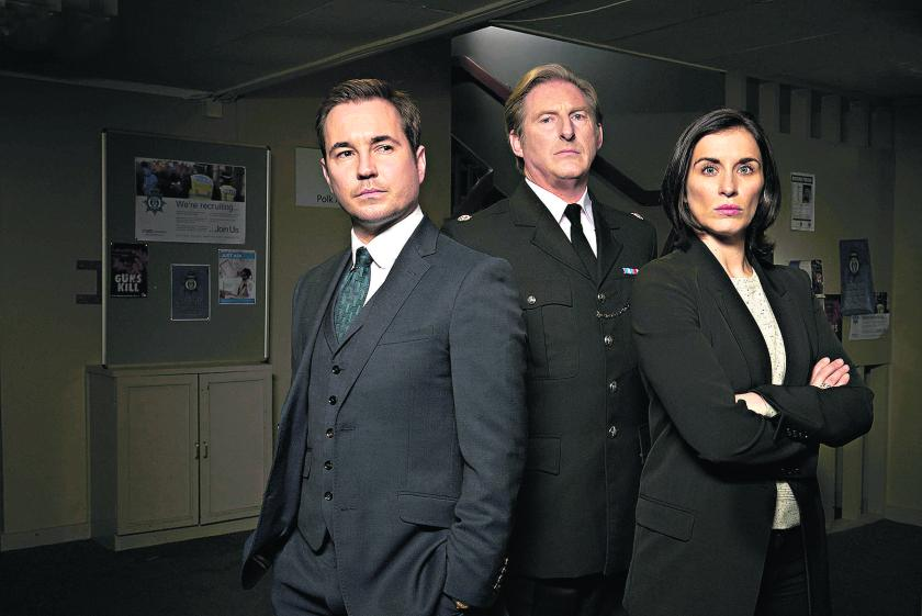The BBC drama Line of Duty deals with police corruption