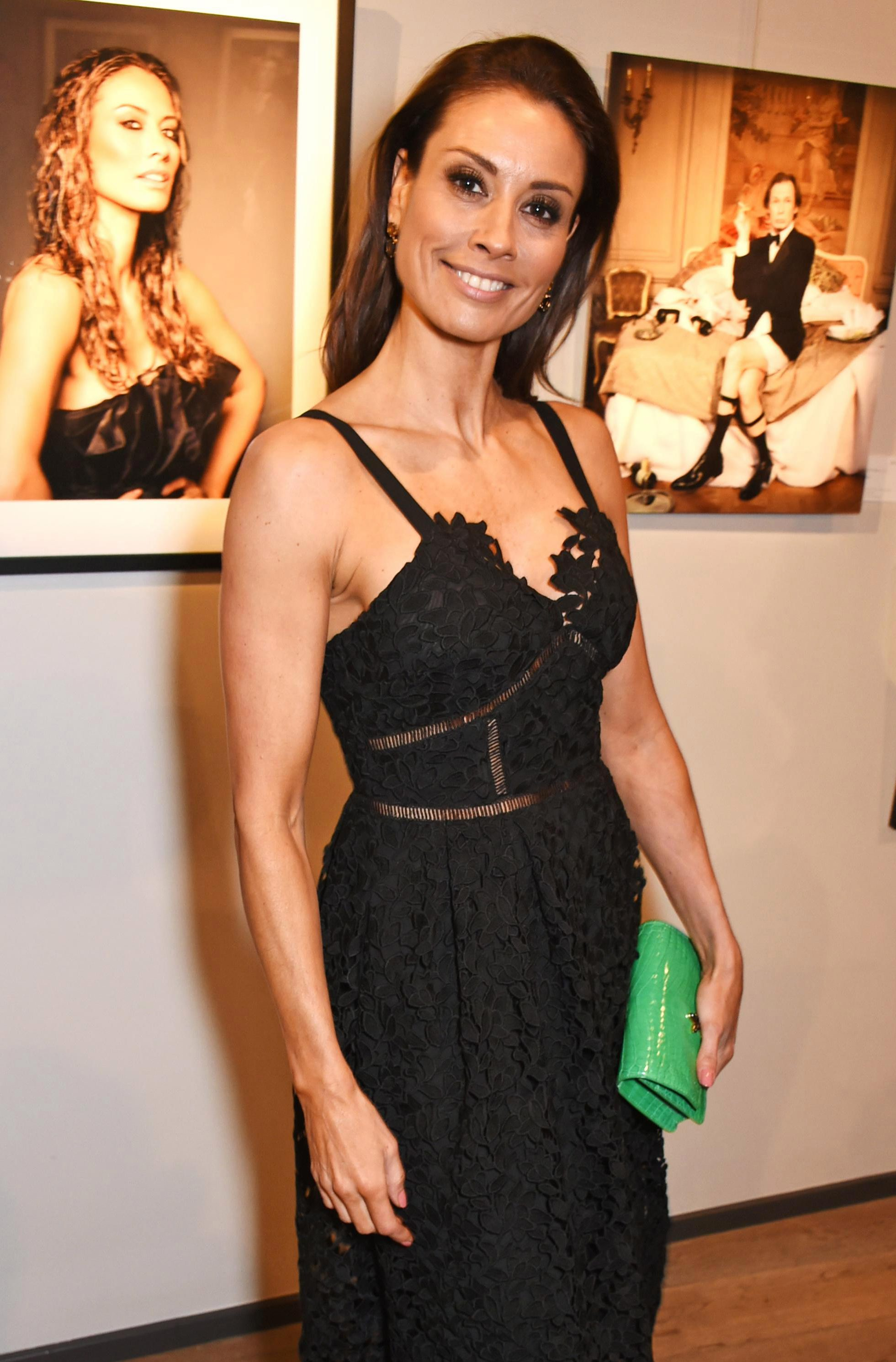 Who is Melanie Sykes and when did she date Steve Coogan and Olly Murs?