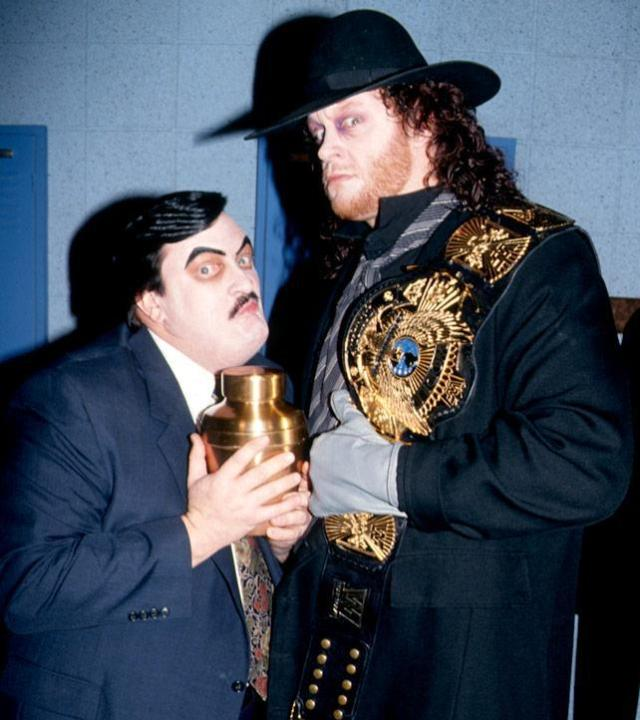 The Undertaker with Paul Bearer