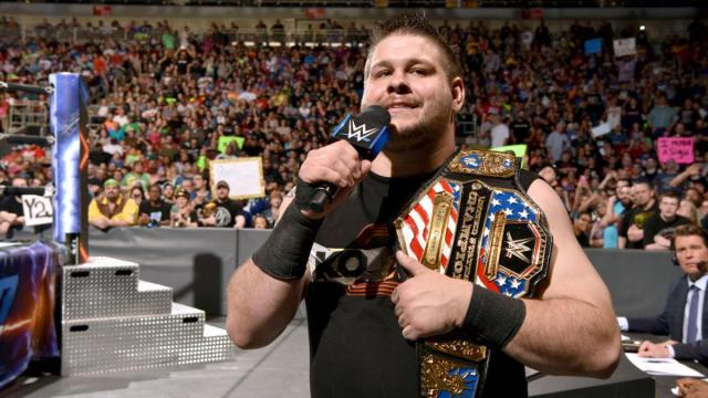 Kevin Owens cut a scathing promo about America