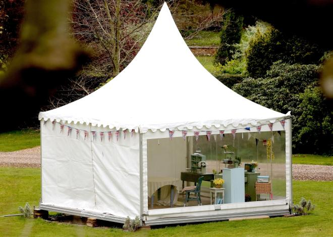 The Bake Off tents are a sign of summer