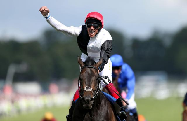 Golden Horn went on to win the Derby