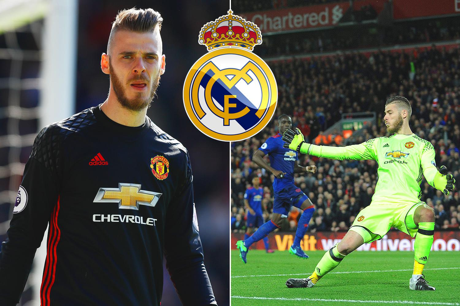 Manchester United ready to boost David De Gea s £200k a week