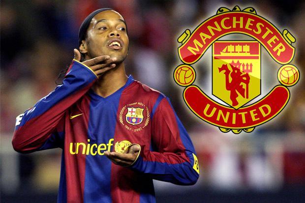 Manchester United news Ronaldinho insists he has no regrets over