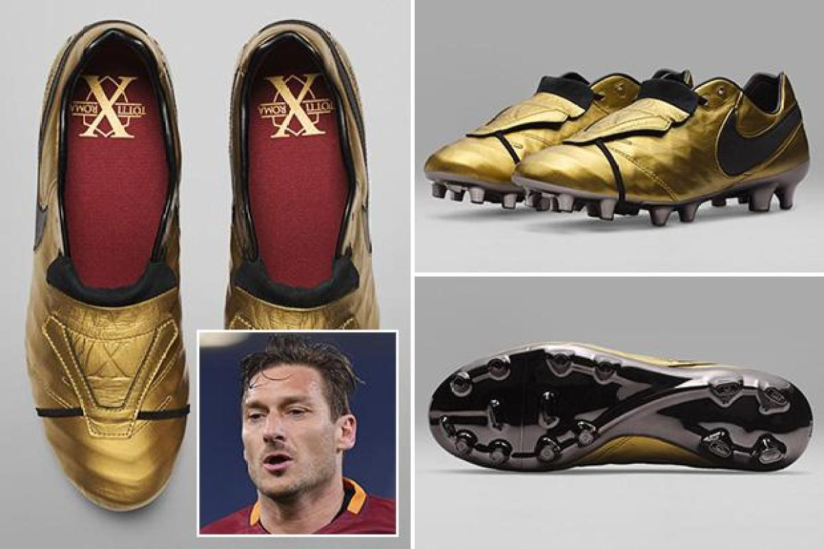 premium selection 471b4 2e199 Nike release limited edition gold boots to celebrate ...