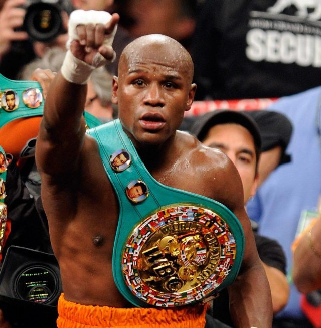 Mayweather is yet to sign on for any fight