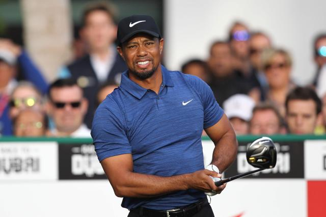 Tiger Woods has not played since withdrawing from the Dubai Desert Classic in February