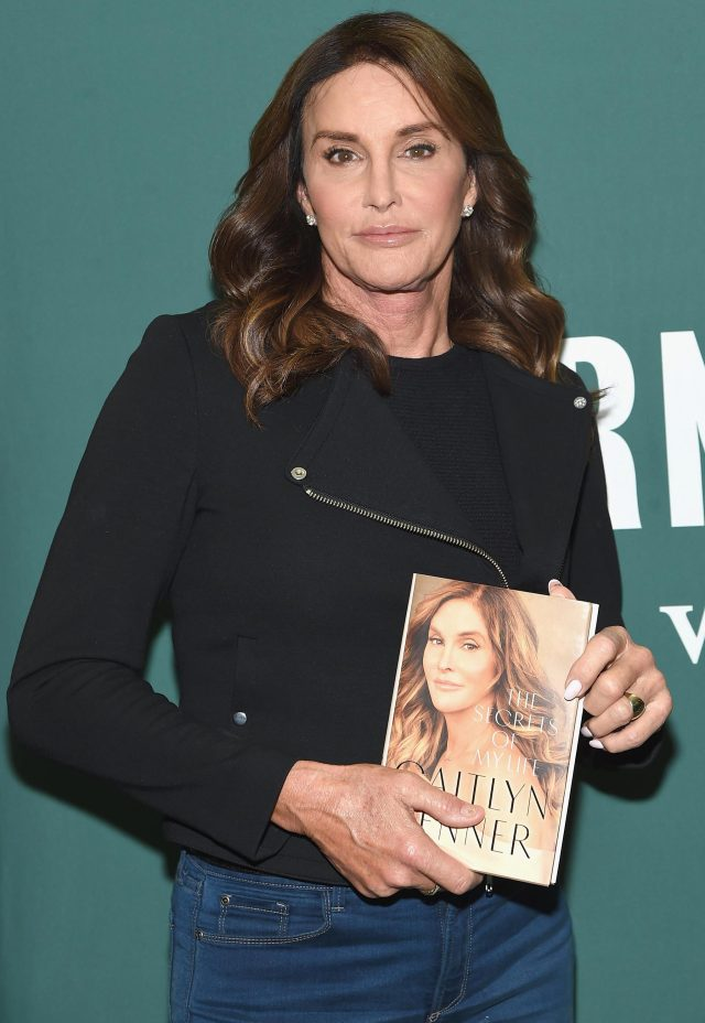 Caitlyn Jenner is currently promoting her new autobiography, The Secrets Of My Life