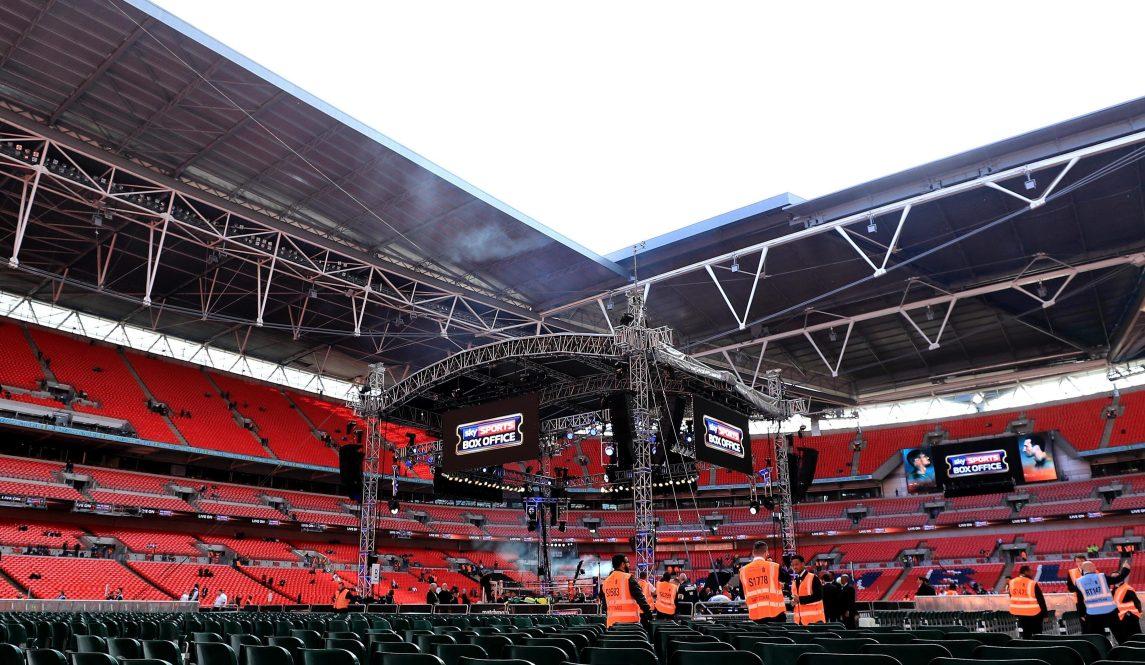 Anthony Joshua Has Already Booked Wembley To Fight Tyson Fury Next April