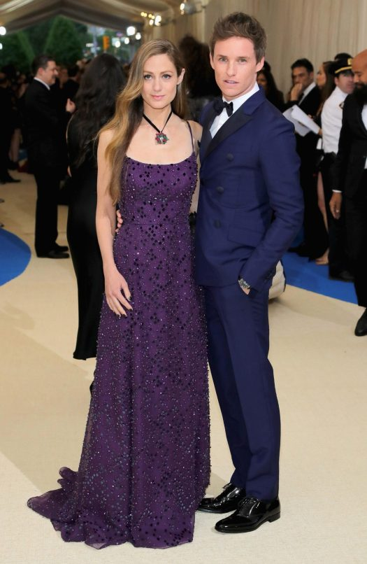Hannah Bagshawe and Eddie Redmayne also made the fine couple at the event