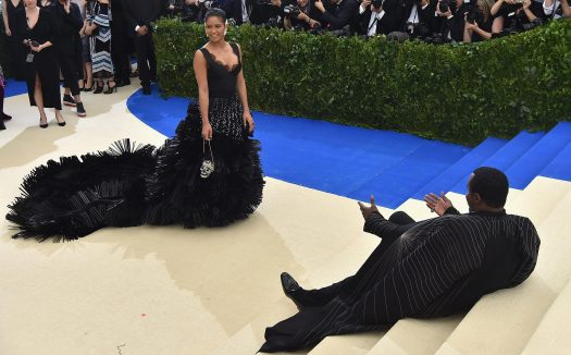 Diddy made sure all eyes were on Cassie as they arrived at the event