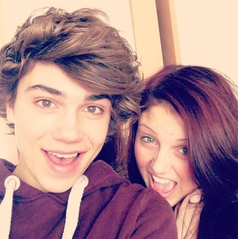 Image result for George Shelley and sister