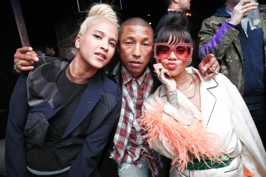 Rihanna hosted the Met Gala's after party at 1OAK in New York